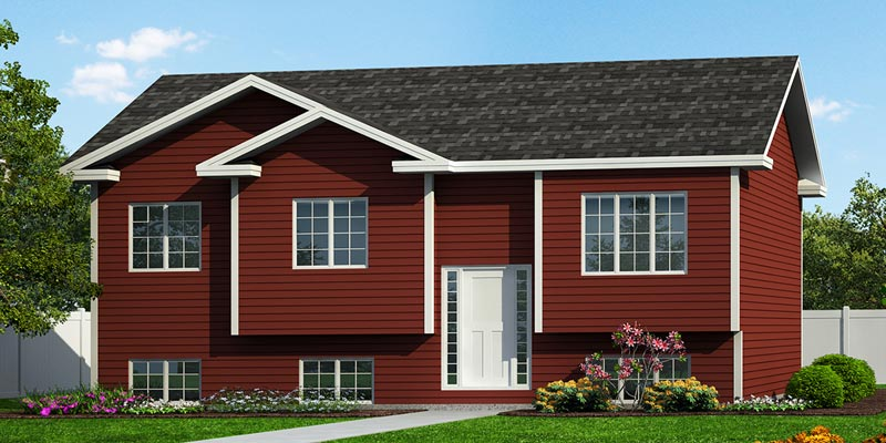 Split Entry House  Plans  Newfoundland